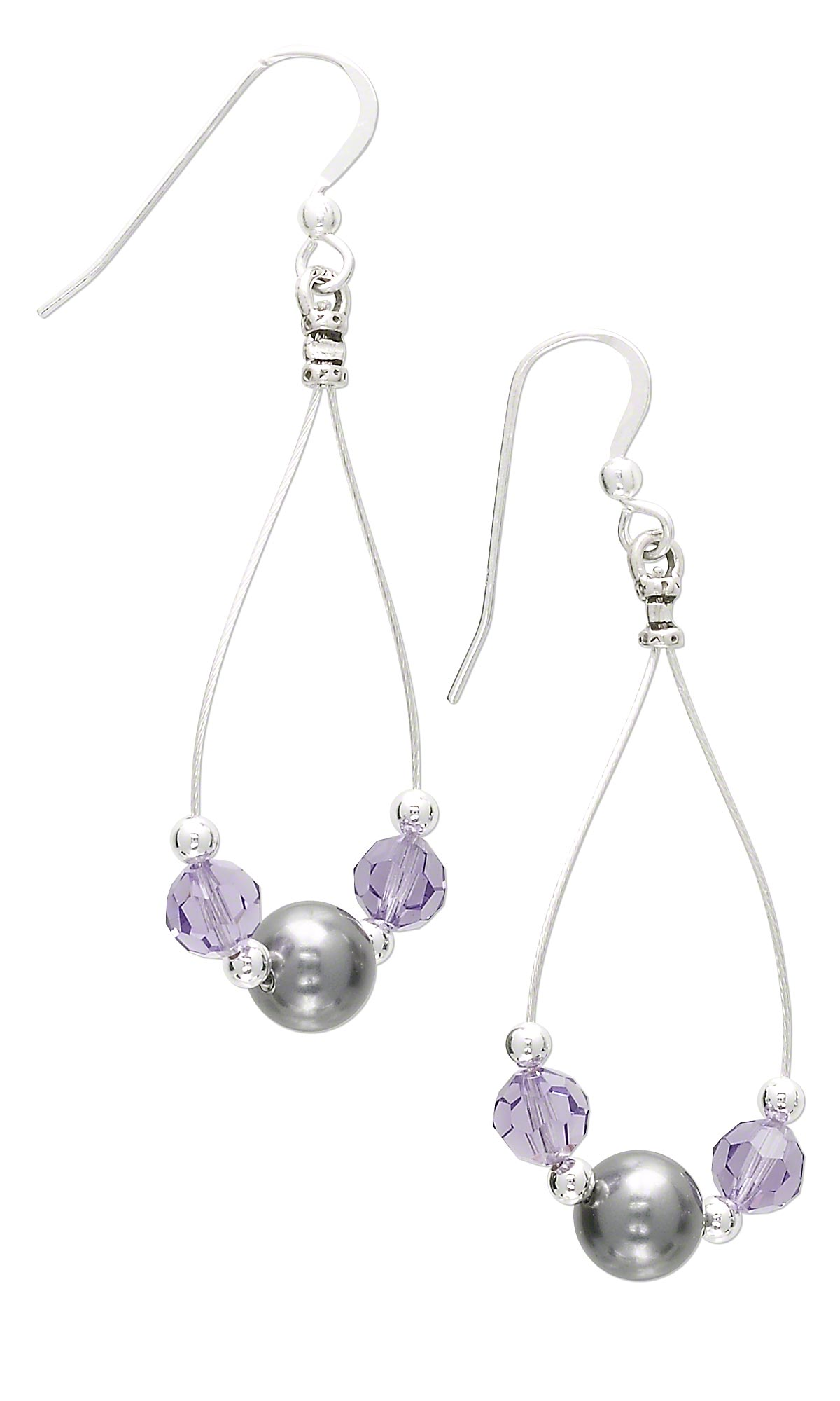jewelry design earrings with accu flex 174 beading wire and