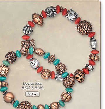 Design Ideas B10C and B10A Bracelets