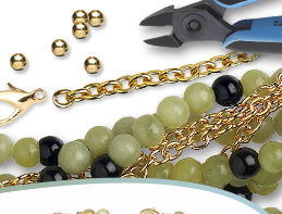Green Serpentine Gemstone Beads and Components