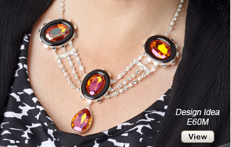 Design Idea E60M Necklace and Earring Set