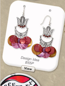 Design Idea B55P Earrings