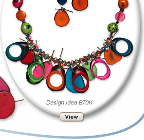 Design Idea B70K Necklace and Earring Set
