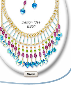 Design Idea BB5Y Necklace and Earring Set