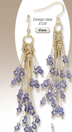 Design Idea E129 Earrings