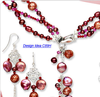 Design Idea C89H Necklace and Earrings