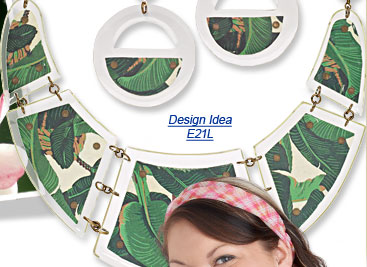 Design Idea E21L Necklace and Earring Set