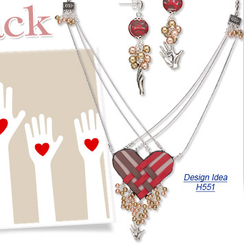Design Idea H551 Necklace and Earrings