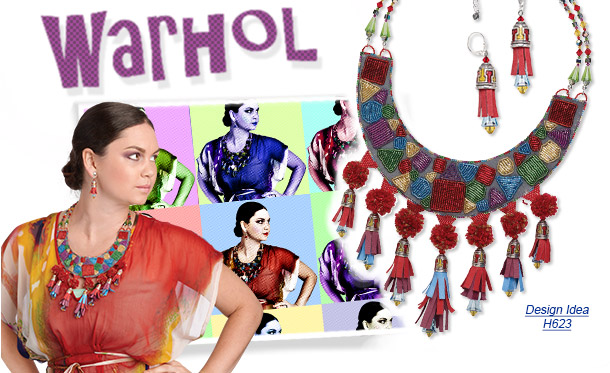Design Idea H623 Necklace and Earrings
