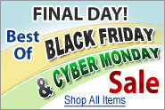 Best-Of Black Friday and Cyber Monday Sale - Final Day