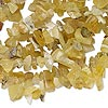 Bead, wax opal (natural), medium chip, Mohs hardness 5 to 6-1/2. Sold per 36-inch strand.